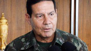 Vice-presidente, Mourão diz que ele e Bolsonaro são 'irmãos siameses'