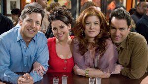 """Astros de """"Will & Grace"""" em foto promocional dos novos episódios da série"""