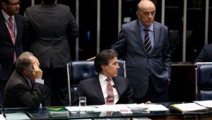Senadores votam a PEC pelo fim das coligações partidárias