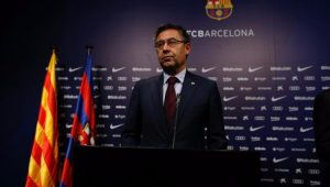 Presidente do FC Barcelona, Josep Maria Bartomeu apoia a adesão ao movimento pela independência da Catalunha