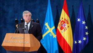 Mundo União Europeia Antonio Tajani