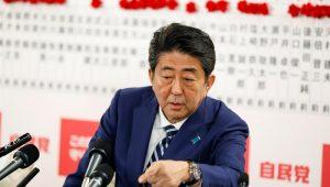 Primeiro-ministro do Japão, Shinzo Abe vai para seu terceiro mandato como primeiro-ministro do Japão