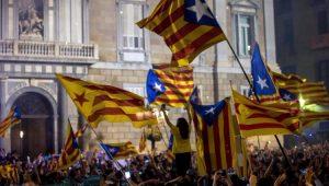 Mundo Catalunha Barcelona Manifestação