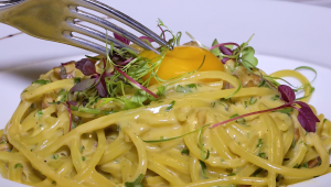 Receita: delicioso Carbonara do chef do restaurante Zucco
