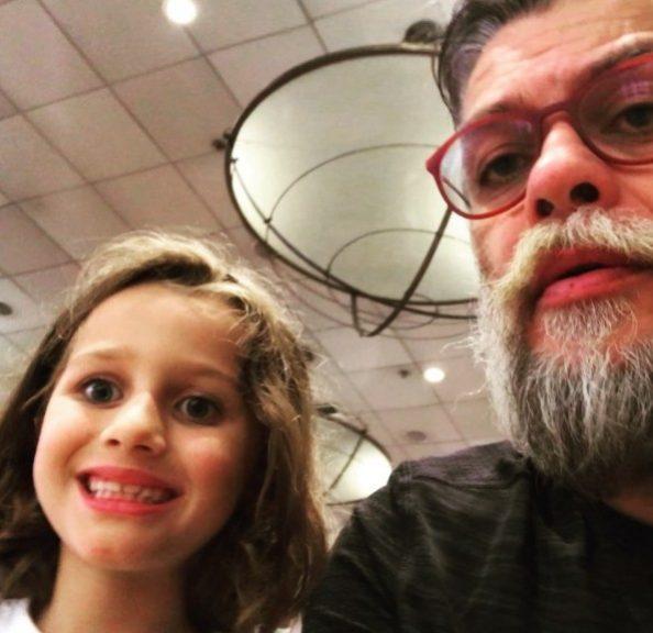 Ella, filha do ator Fábio Assunção