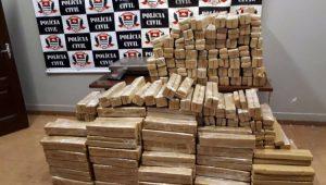 Polícia apreende 3,1 toneladas de maconha no oeste paulista
