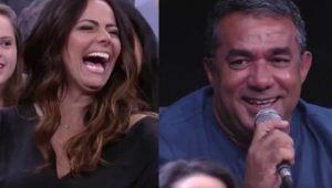 Em momento hilário, pai de Anitta se declara a Viviane Araújo na TV