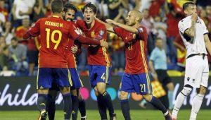 Futebol Eliminatórias Espanha