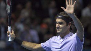 Tênis Torneio da Basileia Roger Federer