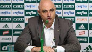 Futebol Palmeiras Maurício Galiotte