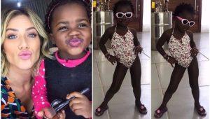 Giovanna Ewbank mostra clique da filha Titi