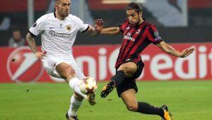 Futebol Liga Europa Milan AEK