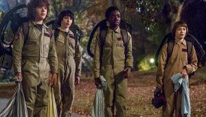 """Cena de Halloween da 2ª temporada de """"Stranger Things"""""""