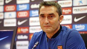 Valverde minimiza má fase do Barcelona e questiona arbitragem no Espanhol