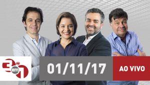 """Assista na íntegra ao """"3 em 1"""" desta quarta-feira (01/11/2017)"""
