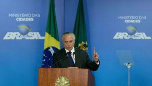Presidente Michel Temer participa do lançamento do Cartão Reforma