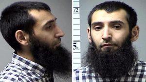Terrorista Sayfullo Saipov é fichado pela Polícia de Nova York