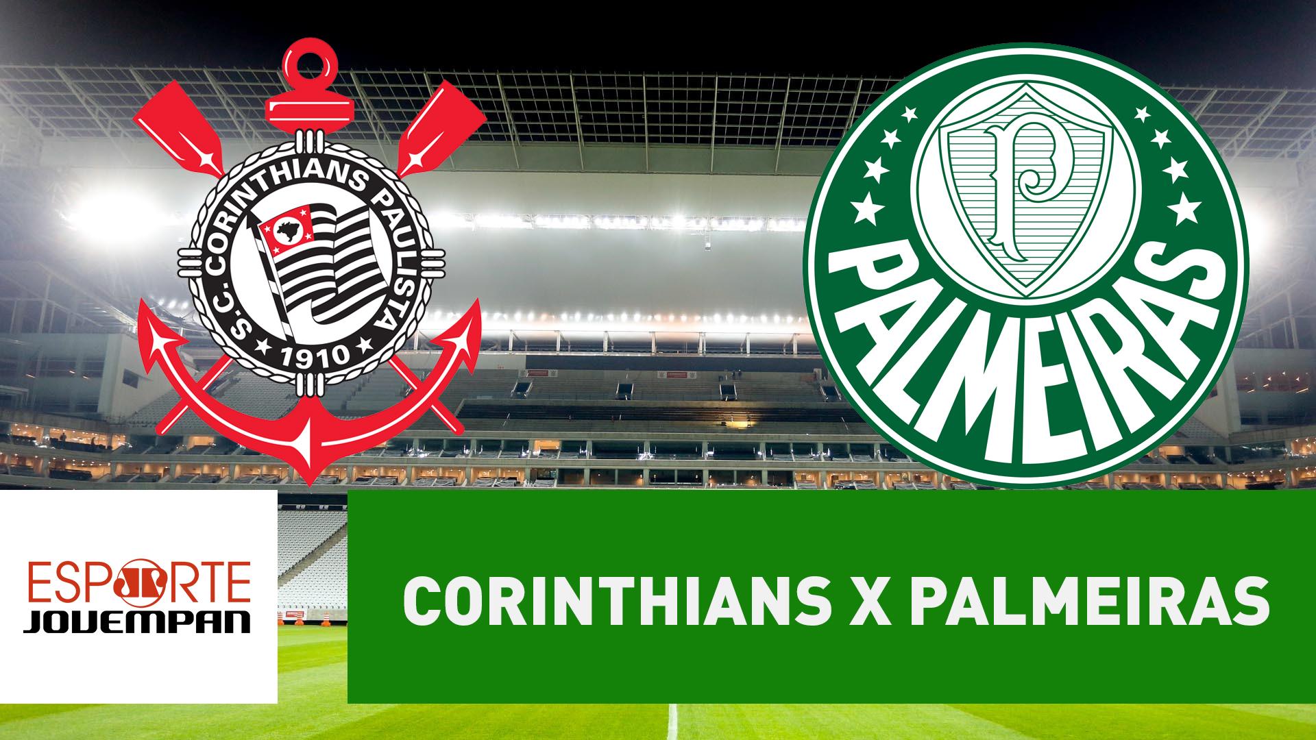 Resultado de imagem para Palmeiras X Corinthians - Jovem Pan