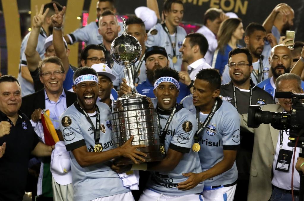 Grêmio supera Lanús na Argentina e é tricampeão da Libertadores ... 4db986c275602