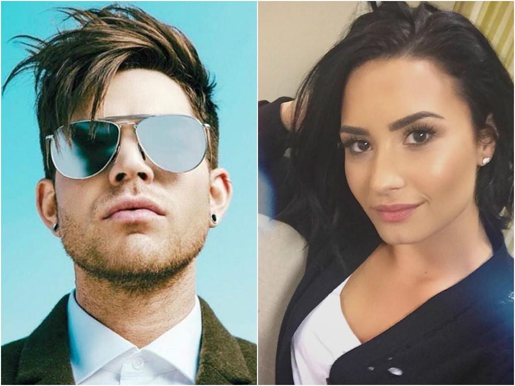 4cbb31f103256 Reprodução  Instagram  p Adam Lambert e Demi Lovato não brigaram  p . Nesta  semana ...