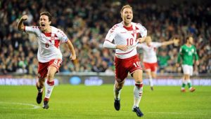 Futebol Eliminatórias Copa do Mundo Dinamarca Irlanda