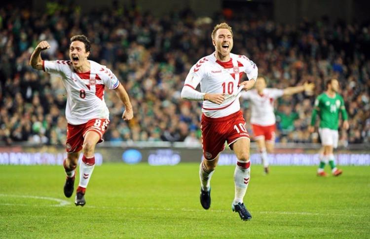 Dinamarca vira sobre a Irlanda fora de casa 081179623deb0