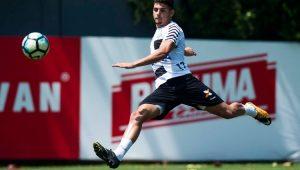Reservas do Santos vencem jogo-treino com três gols de Yuri Alberto