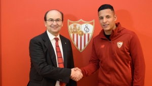 Guilherme Arana desagrada Sevilla e pode voltar ao Brasil, diz jornal