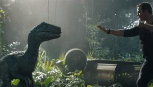 Chris Pratt em Jurassic World Reino Ameaçado