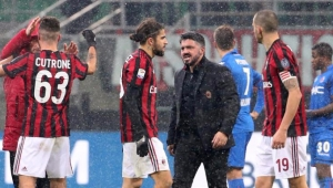 Futebol Campeonato Italiano Milan Bologna