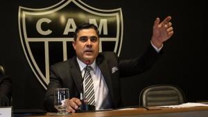 """Presidente do Galo dispara contra arbitragem após derrota: """"vagabundo, ladrão e mal-intencionado"""""""