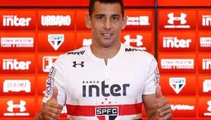 Atacante Diego Souza é apresentado oficialmente pelo São Paulo