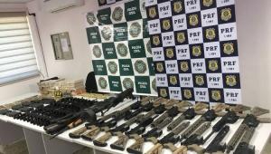 Uso de fuzis pelo crime organizado em SP e Rio dobra; apreensões caem