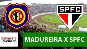 Madureira x São Paulo: acompanhe o jogo ao vivo na Jovem Pan