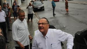 Alckmin admite que PSDB pode abrir mão de liderar coligação em SP