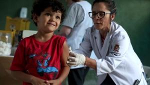 Campanha contra polio e sarampo atinge 93% do público-alvo