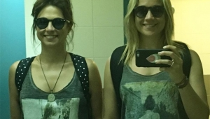 Fernanda Gentil e namorada