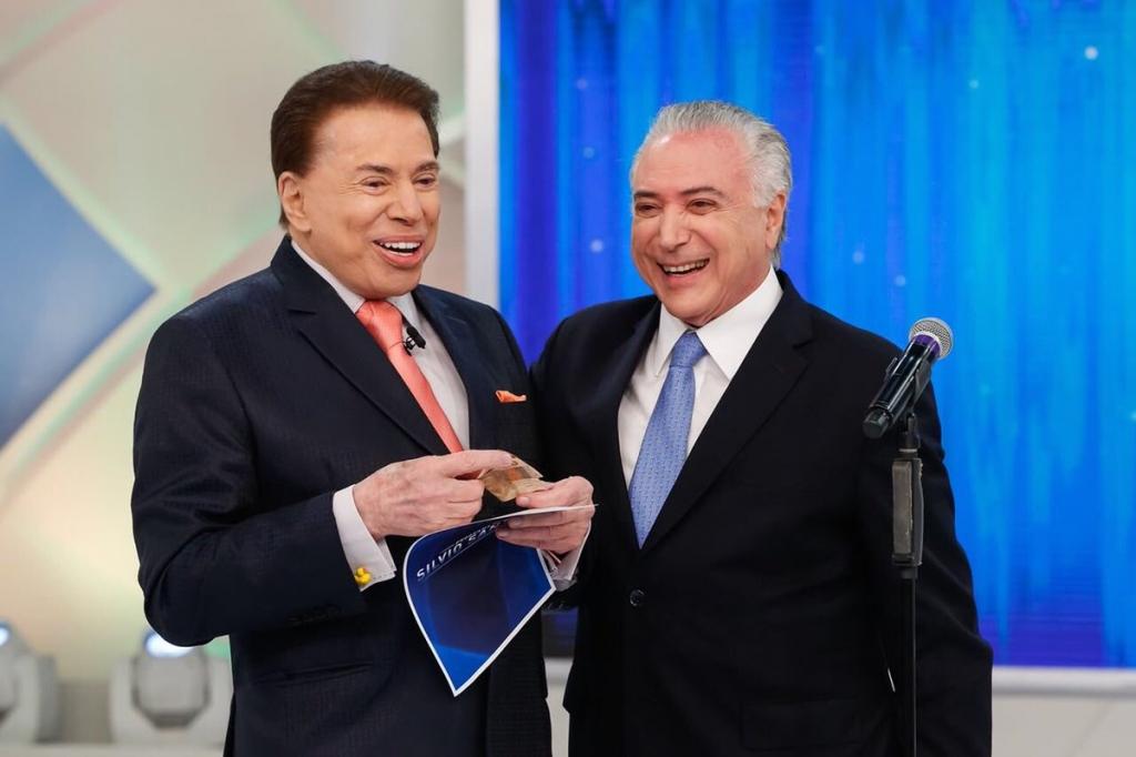 Projeto de reforma da Previdência não alcança os mais pobres, diz Temer a Silvio Santos