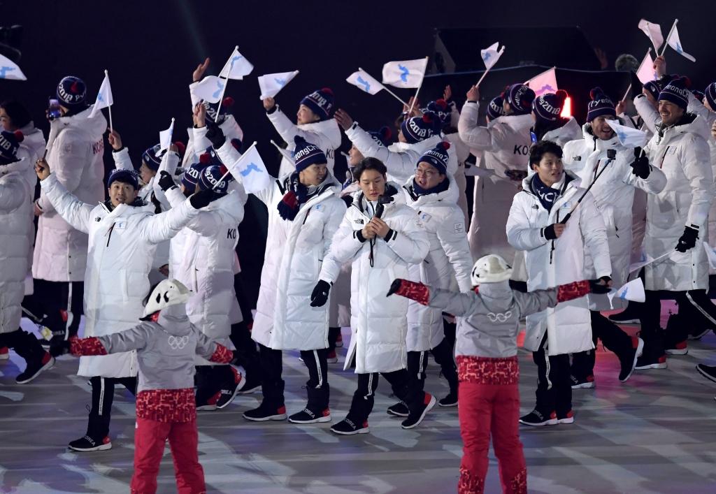Coreia do Sul, coreia do norte, jogos olímpicos de invernom, PyeongChang