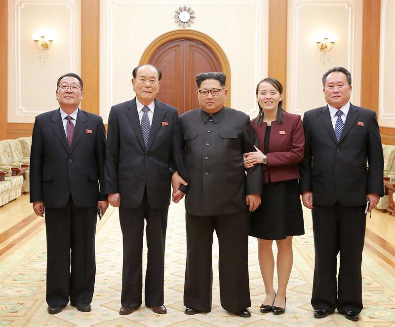 Kim Jong-un recebe irmã como heroína e reforça aproximação com Coreia do Sul