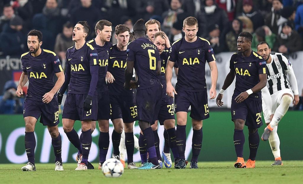 Juventus, Tottenham, liga dos campeões