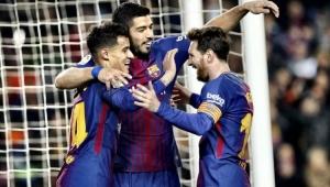 Messi, Suárez e Coutinho brilham, Barcelona faz 6 a 1 no Girona e quebra recordes
