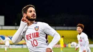 Pato marca e garante empate do Tianjin Quanjian na Liga dos Campeões da Ásia