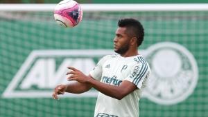Borja volta a treinar no Palmeiras e deve jogar clássico contra o Corinthians