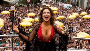 Paulistanos se despedem do carnaval de rua em ritmo de axé