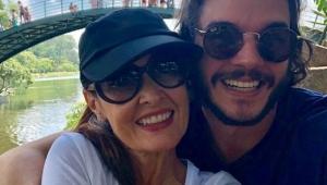 """Túlio leva Fátima para correr no Ibirapuera: """"iniciando minha atleta nos espaços públicos"""""""