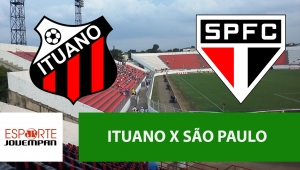 Ituano x São Paulo: acompanhe o jogo ao vivo na Jovem Pan