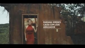 Em meio a destroços, Mariana Ximenes estrela campanha impactante contra a Samarco