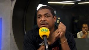 """Vampeta vê São Paulo se deteriorando e questiona: """"será que vai virar um Milan?"""""""