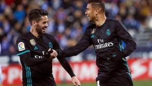Com gol de Casemiro, Real Madrid bate Leganés e assume a 3ª posição no Espanhol